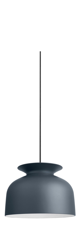 Gubi – Gubi - ronde pendel antracit - ø40 fra unoliving.com