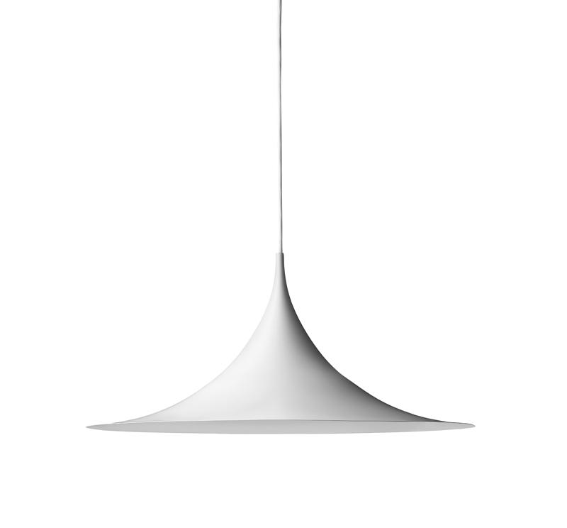 Gubi Gubi - semi pendel ø60 - hvid på unoliving.com