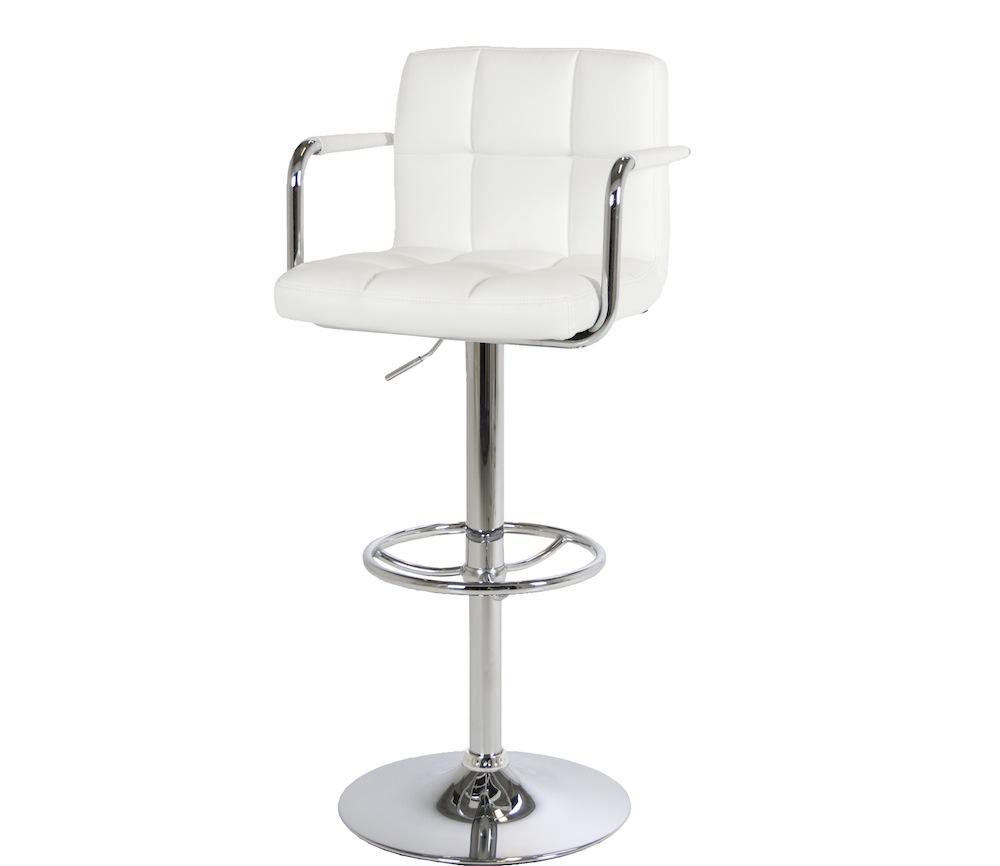 Pelican barstol - hvid fra N/A på unoliving.com