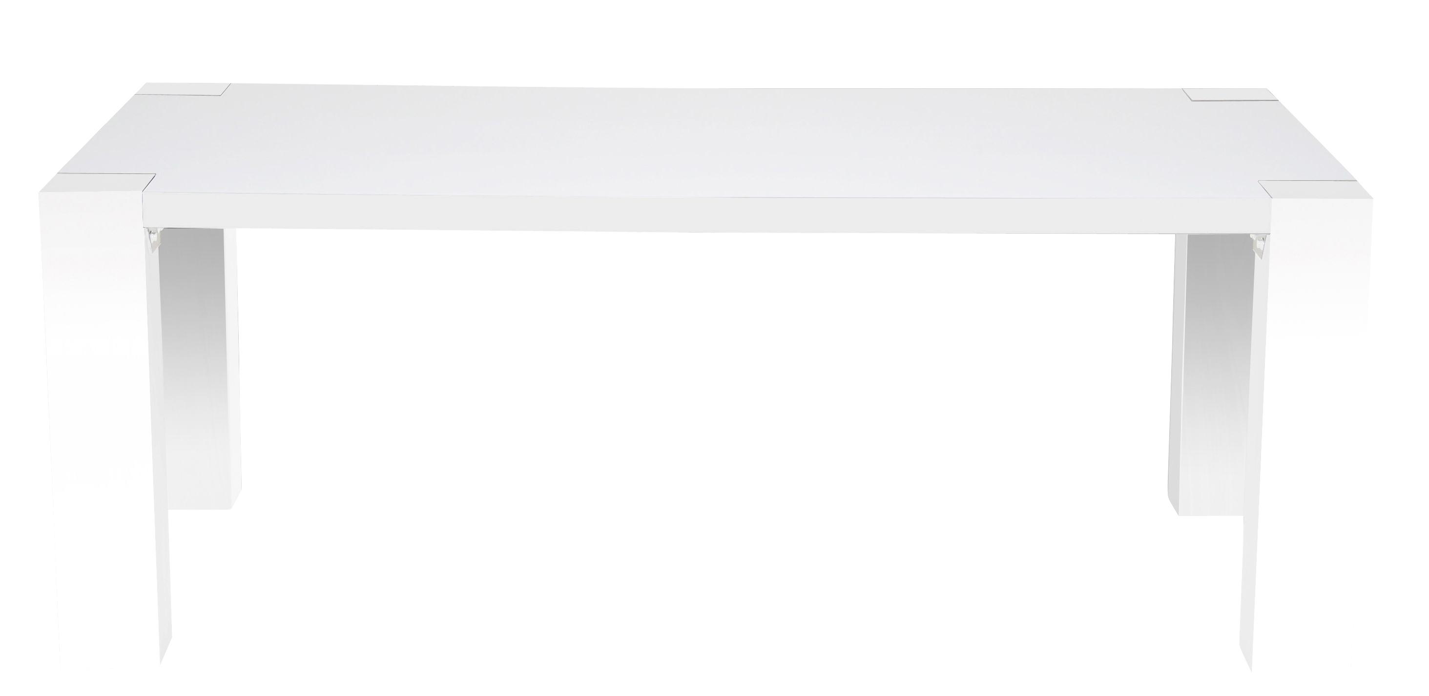Tori spisebord - hvid højglans - 180x90 fra N/A på unoliving.com