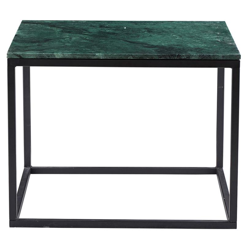House doctor Kubi sofabord - grøn marmor fra unoliving.com