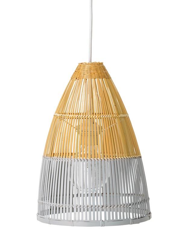Bloomingville – Bloomingville pernille pendel - bambus - ø25 fra unoliving.com