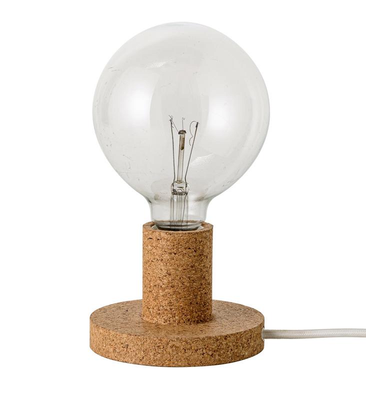 Bloomingville – Bloomingville  bordlampe - brun fra unoliving.com