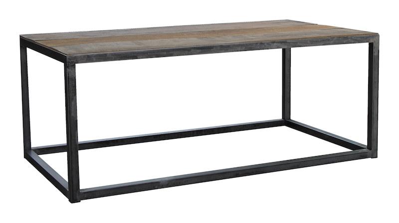 Canett – Canett timber sofabord - genanvendt træ - 120x60 fra unoliving.com