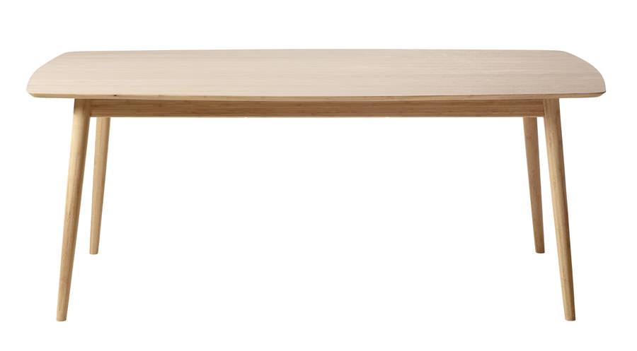 Cinas – Cindy spisebord - massiv bambus fra unoliving.com