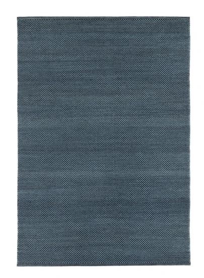 Fabula Living - Myrtus Sort/Midnatsblå Kelim - 250x350