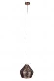 Dutchbone Cooper Pendel - Medium - Kobberfarvet metal - håndlavet