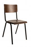 Dutchbone - Scuola Spisebordsstol - Finér - Spisebordstol i kryssfiner