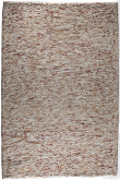 Oxford Håndvævet tæppe - Beige Rust - 90x150