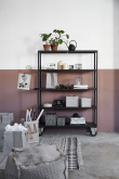 House Doctor Rolling Bookcase