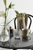 Nordal - Cafébord Ø60 - Sort marmor