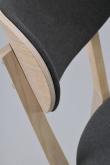 Kato Spisebordsstol hvidvasket eg