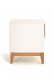 Woodman - Blanco Sidebord - Hvid