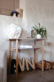 Cee Konsolbord - Lys grå