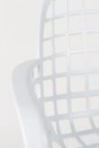 Zuiver Albert Kuip Havestol m/armlæn - Hvid