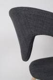 Zuiver - Flex Back Spisebordsstol - Grå