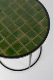 Zuiver Glazed Sidebord Ø40 - Grøn