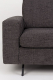 Zuiver Jean 2,5-pers. Sofa - Antracit