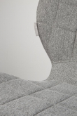 Zuiver OMG Spisebordsstol - Grå stof