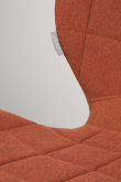Zuiver OMG Spisebordsstol - Orange stof