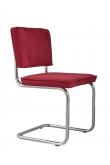Zuiver Ridge Spisebordsstol - Rød fløjl