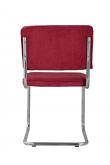 Zuiver - Ridge Spisebordsstol - Rød fløjl