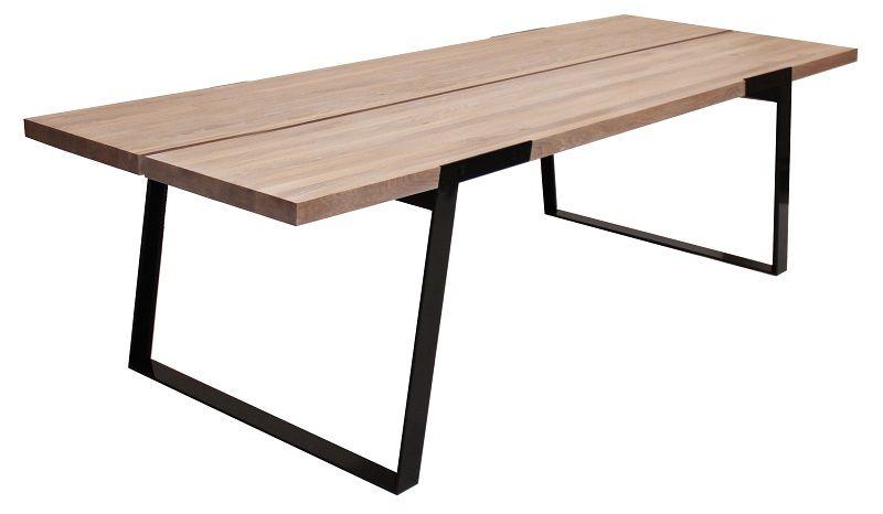 Silva Spisebord - 290 cm - Hvid olieret - Moderne og robust spisebord i massiv eg