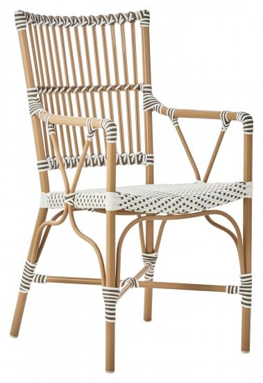 Sika-Design Monique Havestol m/armlæn - Mandel