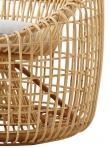 Caneline - Nest Loungestol - Natur