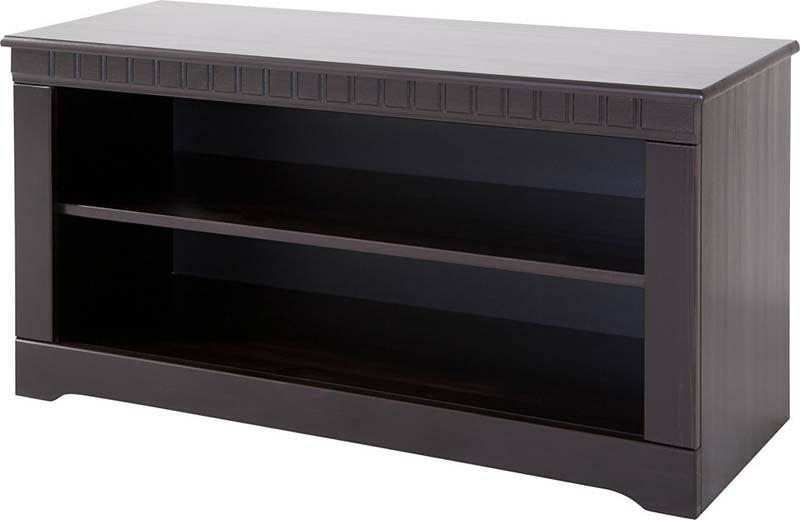Claire TV-bord Mørk lakeret fyrretræ     - Mørkt TV-bord i fyrretræ