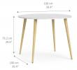 Delta Spisebord - Hvid