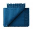 Athen Plaid, Uld, Petrol-Blue, 200x130
