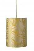Ebb&Flow - Lampeskærm, fern leaves wild, gul, Ø30