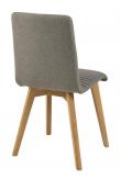 Rosa Spisebordsstol - Lysegrå