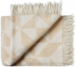 Twist a Twill Plaid, Beige - Beige plaid i 100% ren ny merino uld