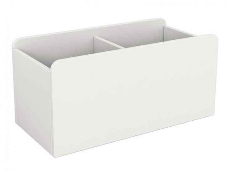 Flexa Shelfie Legetøjskasse - Legetøjskasse i hvid