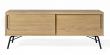 Woodman - Ashburn Tv-bord - Sort stel