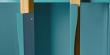 Woodman - Avon Vitrineskab - Blå