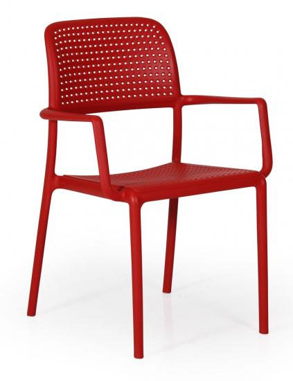 Brafab - Bora Havestol - Rød