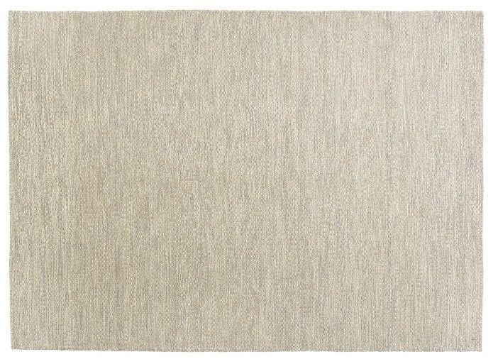 Fabula Gimle tæppe - Beige/Grå - Håndvævet Kelim 140x200 cm