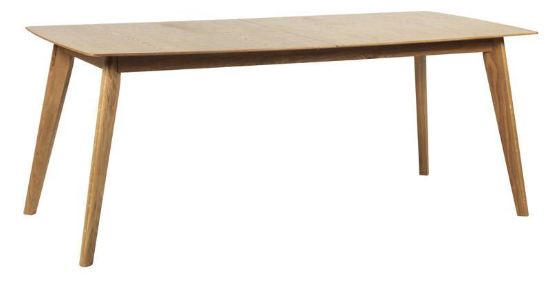 Cirrus Spisebord m. Butterfly udtræk 90x150/195cm - Butterfly udtræk