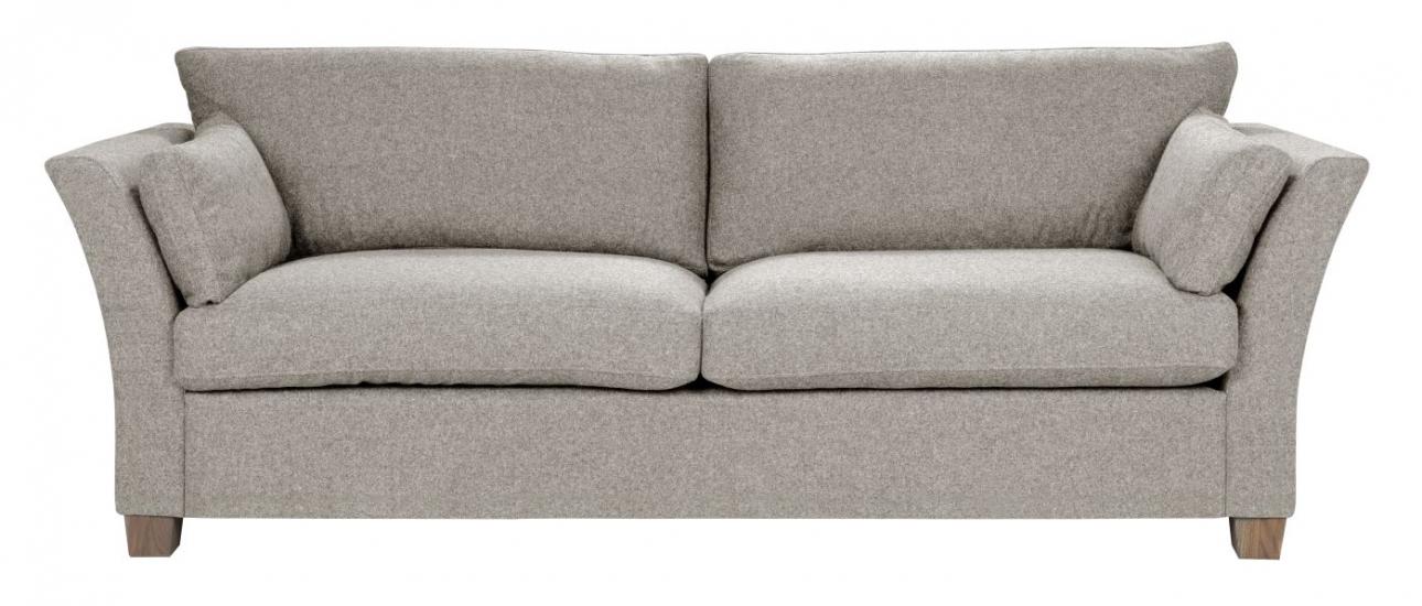 Milton 3-pers. Sofa - beige Uld
