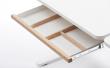 FLEXA Study - Moby skrivebordsskuffe - hvid