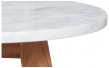 Zuiver - White Stone Sofabord - Hvid - Ø50