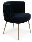 Such a Stud Spisebordsstol - Mørk Blå