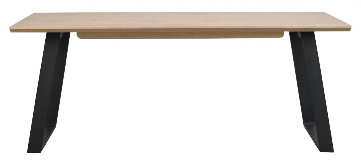 Melville Spisebord, hvidvasket egefinér