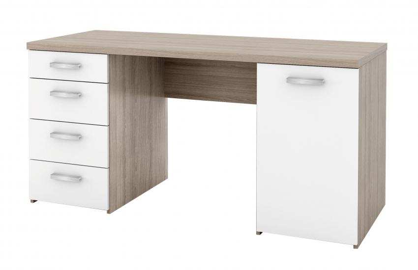 Function Plus Skrivebord - Lys træ - Skrivebord i egetræslook
