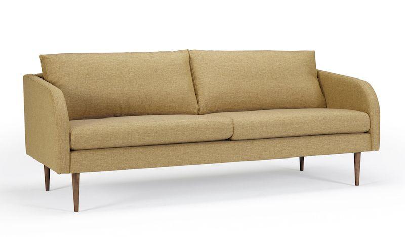 Kragelund Husum 3-pers. sofa Gul