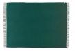 Athen Plaid - Mørk grøn Uld - 200x130