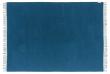 Lima Plaid - Blå Baby Alpaca - 200x130